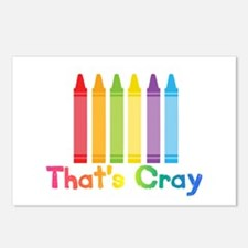 Thats Cray Postcards (package Of 8)