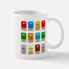 Airport city codes Mugs