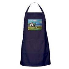 Soft Coated Wheaten Terrier Summer Cottage Apron (