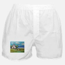 Soft Coated Wheaten Terrier Summer Cottage Boxer S