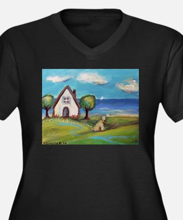 Soft Coated Wheaten Terrier Summer Cottage Plus Si