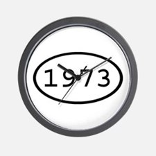 1973 Oval Wall Clock