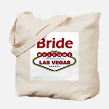 Las Vegas Bride Deep Red Tote Bag