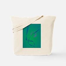 Abstract Rabbit Green Tote Bag