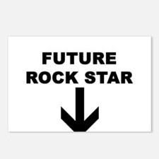FUTURE ROCKSTAR Postcards (Package of 8)
