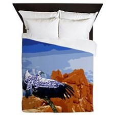 Vulture Spirit Guide Queen Duvet