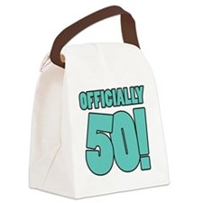 50th Birthday Humor Canvas Lunch Bag