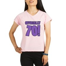 70th Birthday Humor Performance Dry T-Shirt