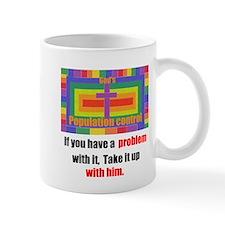 Gods population control Mugs
