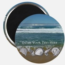 Original Seashell Customizable Art Magnet