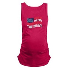 home of the free because of the brave Maternity Ta