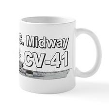 USS Midway CV-41 Small Mug