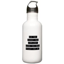 Did You Invent The Airplane Water Bottle