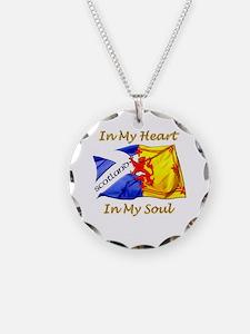 In My Heart Scotland Darks Necklace