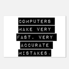 Computers Make Very Fast Accurate Mistakes Postcar
