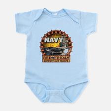 Aircraft Carrier Infant Bodysuit