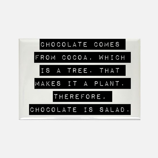 Chocolate Comes From Cocoa Magnets