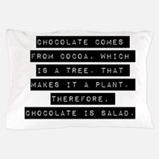 Chocolate Comes From Cocoa Pillow Case