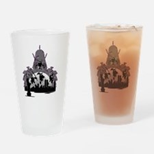 Enter The Shredder Drinking Glass