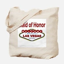 Las Vegas Maid of Honor Deep Red Tote Bag