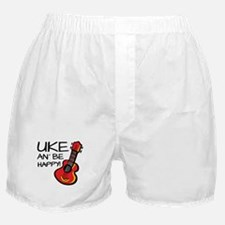 Uke an' be happy! Boxer Shorts