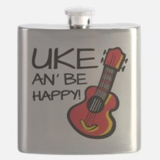 Uke an' be happy! Flask