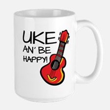 Uke an' be happy! Mugs