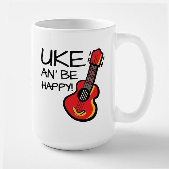Uke an' be happy! Mugs