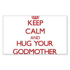 Keep Calm and HUG your Godmother Decal