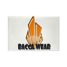 Bacca Wear Logo Rectangle Magnet