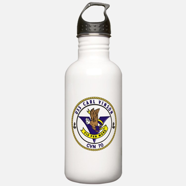 USS Carl Vinson CVN-70 Water Bottle