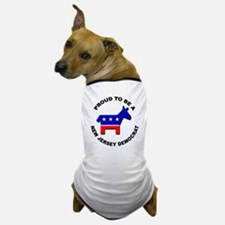 Proud New Jersey Democrat Dog T-Shirt