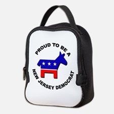 Proud New Jersey Democrat Neoprene Lunch Bag