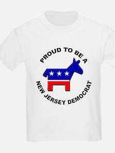 Proud New Jersey Democrat T-Shirt