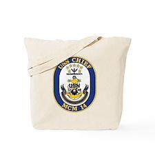 Uss Chief Mcm-14 Tote Bag