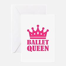 Ballet queen crown Greeting Card
