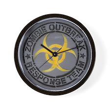Zombie Outbreak Response Team Wall Clock