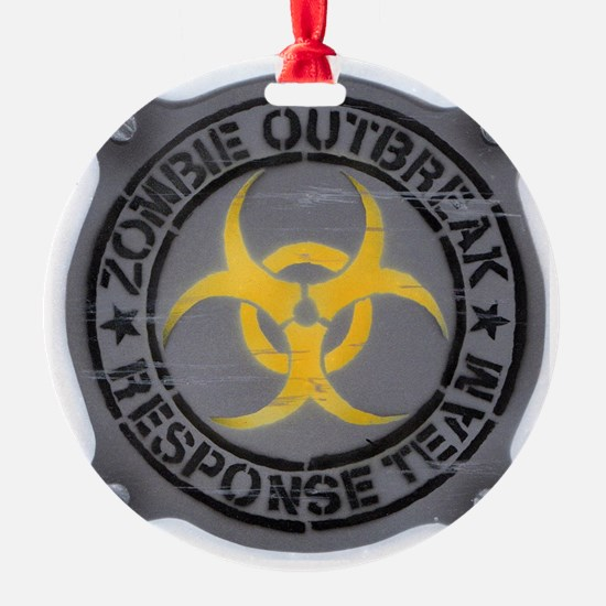 Zombie Outbreak Response Team Ornament