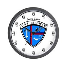 Midway Seal Wall Clock