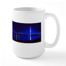 Indian River Bridge at Night Mugs