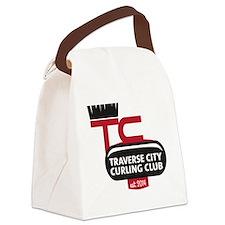 Traverse City Curling Club logo Canvas Lunch Bag