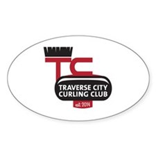 Traverse City Curling Club logo Decal