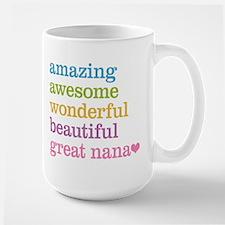 Great Nana - Amazing Awesome Mug