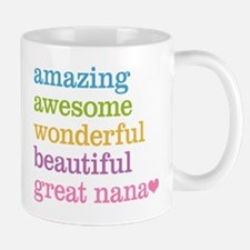 Great Nana - Amazing Awesome Mug