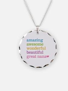 Great Nana - Amazing Awesome Necklace
