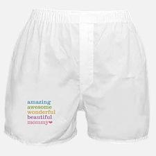 Mommy - Amazing Awesome Boxer Shorts