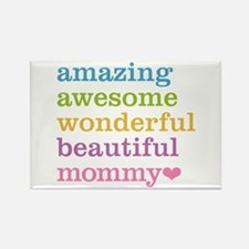 Mommy - Amazing Awesome Rectangle Magnet