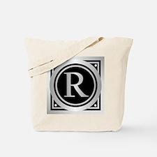 Deco Monogram R Tote Bag