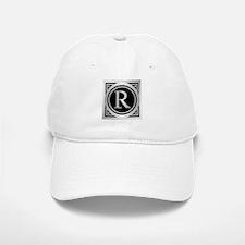 Deco Monogram R Baseball Baseball Baseball Cap