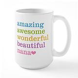 Nana Large Mugs (15 oz)
